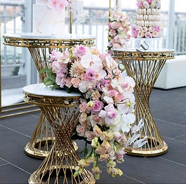 Gold Luxury Console Table