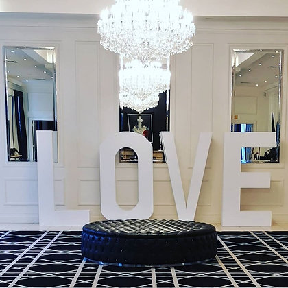 Giant LOVE letters (180cm Height)