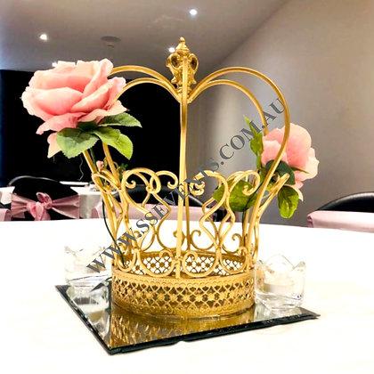 Gold Crown Centerpiece