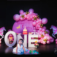 Carousel Themed -1st Birthday Party 2020