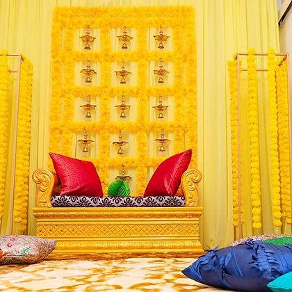 Marigold Backdrop - Yellow