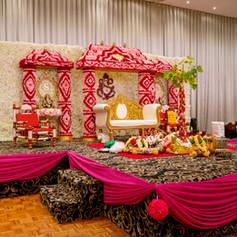 Hindu Wedding - Fresh Flower Mandap (6).
