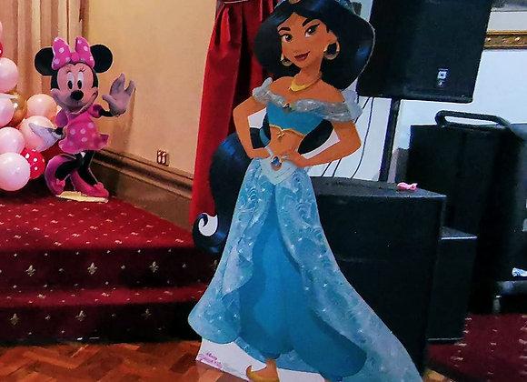 Disney Princess Jasmine Cutout- Free standing cutouts