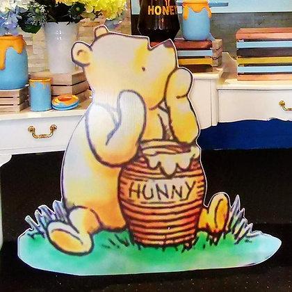 Pooh bear Cutout- Free standing cutouts