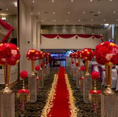 Fresh Flower Wedding Mandap Melbourne (8