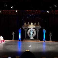 Barathanatiya Arangettam Stage Decoratio