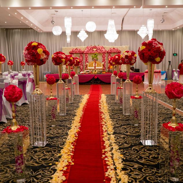 Fresh Flower Wedding Mandap Melbourne (3