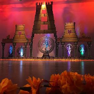 bharatanatyam arangetram stage decoratio
