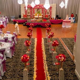 Fresh Flower Wedding Mandap Melbourne (9