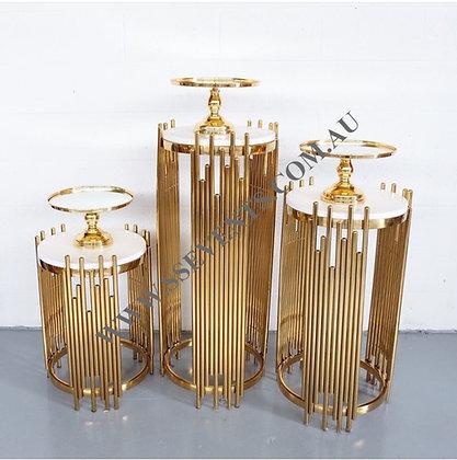 Diya Gold Tables