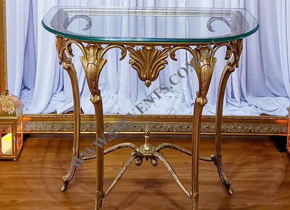 Vintage Gold Cake Table