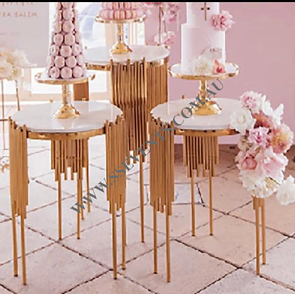 Ara Gold Tables