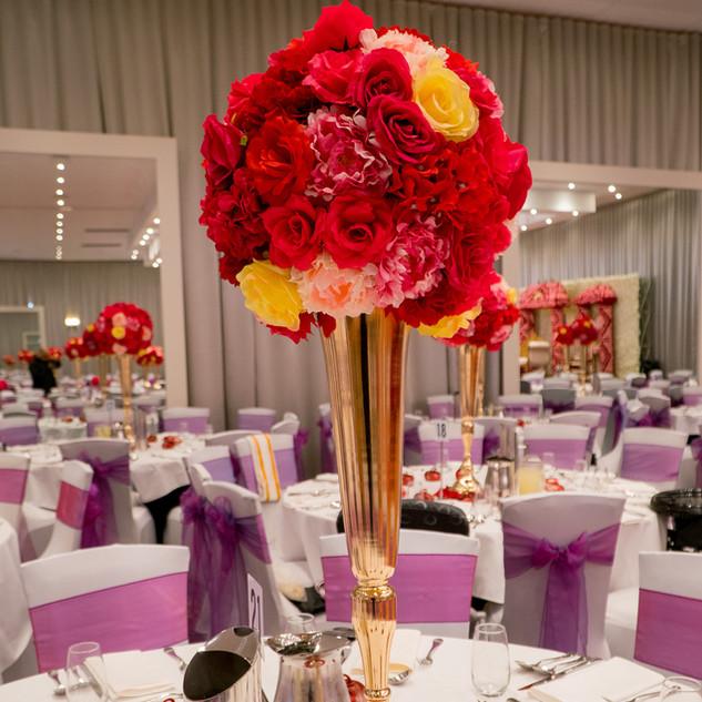 Fresh Flower Wedding Mandap Melbourne (5