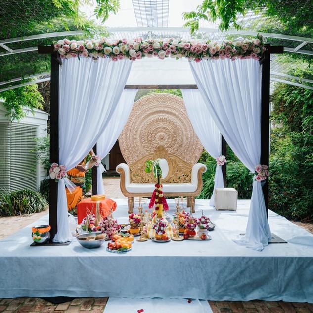 Rustic Style Wedding Mandaps Melbourne