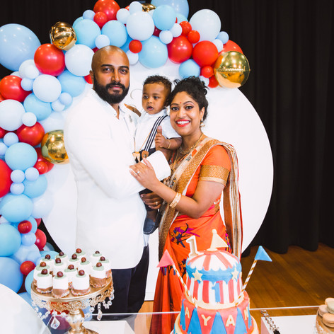 Carnival Themed -1st Birthday Party 2020