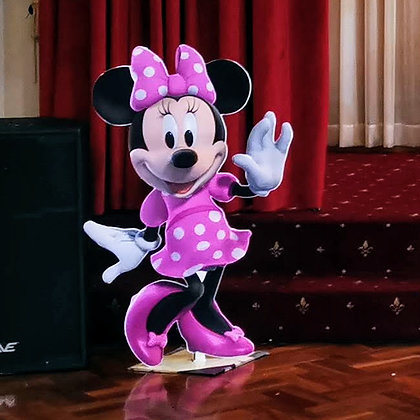 Minnie Mouse cutout- Free standing cutouts