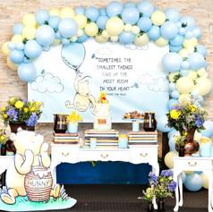 Winnie the pooh Themed -1st Birthday Par