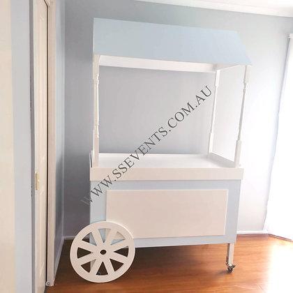 Blue Candy Cart