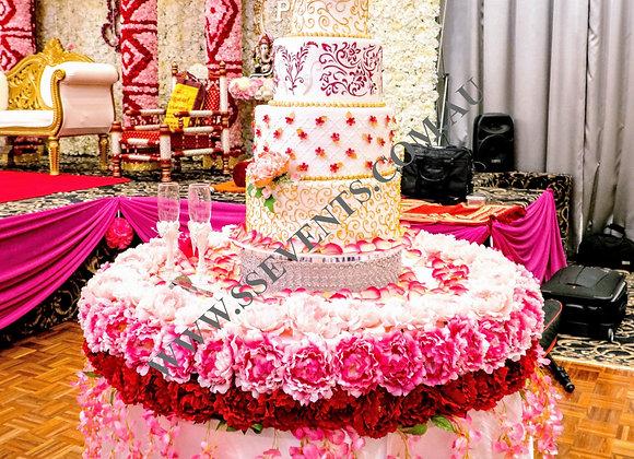 Artificial Flower Base for Cake