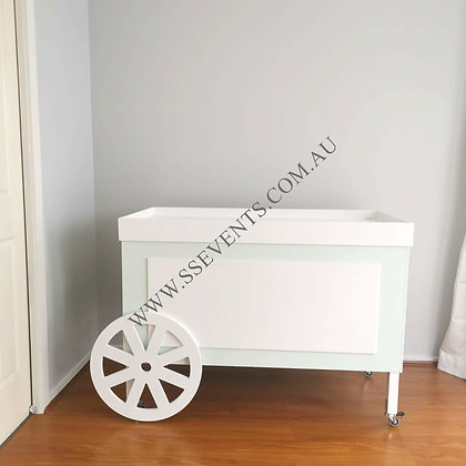 Mint Candy Cart Base Only