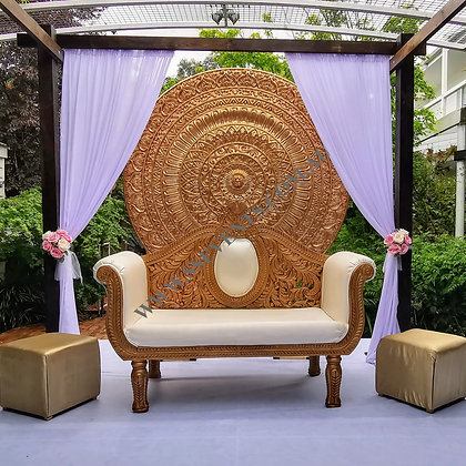 Gold Wedding Couch
