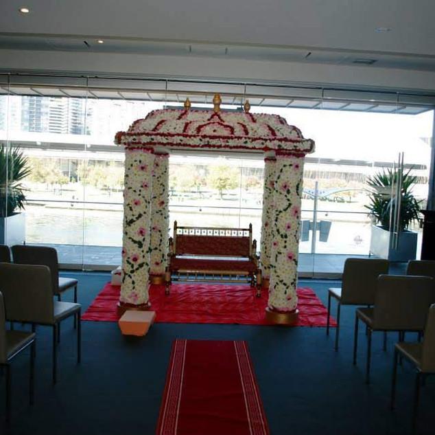 Fresh Flower Wedding Mandap Melbourne _1