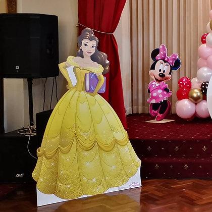 Disney Princess Belle Cutout- Free standing cutouts