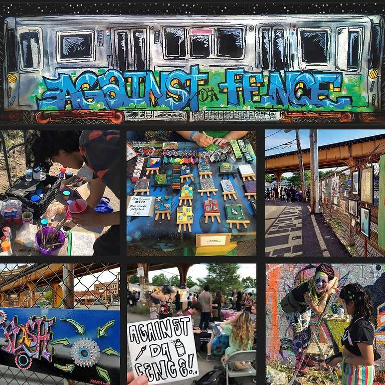 Against Da Fence: mini art festival