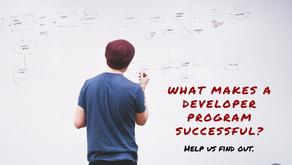 What makes a developer program successful?