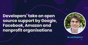Developers' take on open source support by Google, Facebook, Amazon and nonprofit organisations