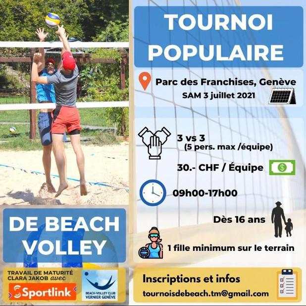 Tournoi 3x3 - Samedi 3 juillet