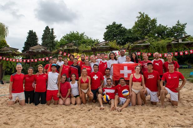 Traditionnel tournoi mixte du 1er août