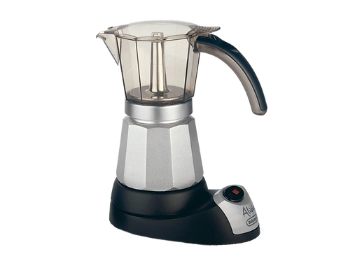 DeLonghi Alicia 3 to 6 Cup Electric Moka Pot
