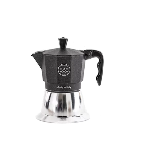 Espresso Brewing Lab Induction Moka 3 Cup inlcudes coffee beans