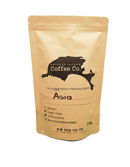 Asia Single Origin 100% Arabica
