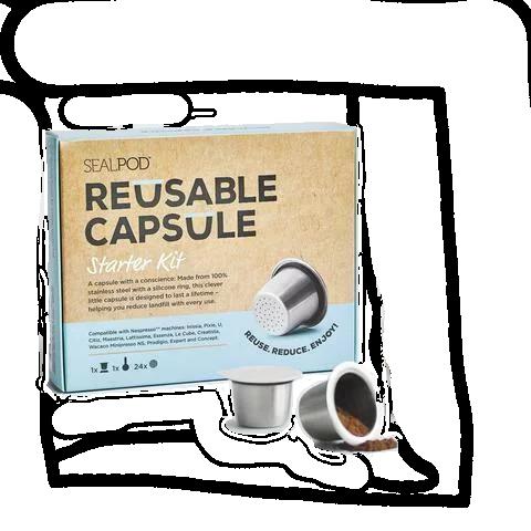 Sealpod Reusable Capsule Starter Kit