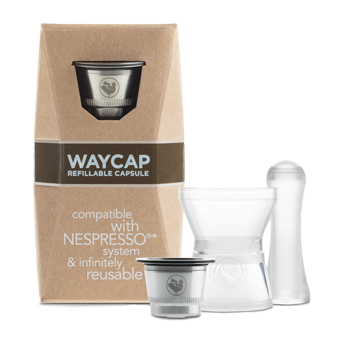 WayCap Ez Refillable Capsules One Pack