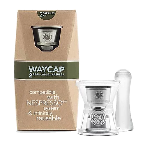 WayCap Ez Two Pack Refillable Capsules