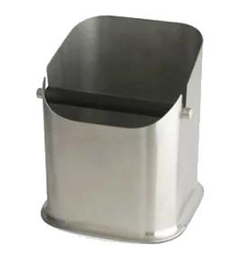 Incasa Stainless Steel Knock Box