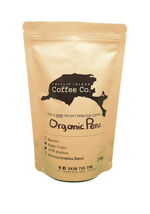 Peru Organic Single Origin 100% Arabica