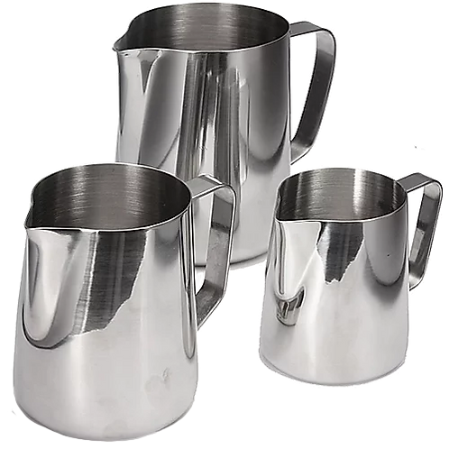 Incasa Stainless Steel Milk Jugs - 3 Sizes and Varieties