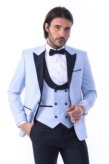Light Blue Tux-03A