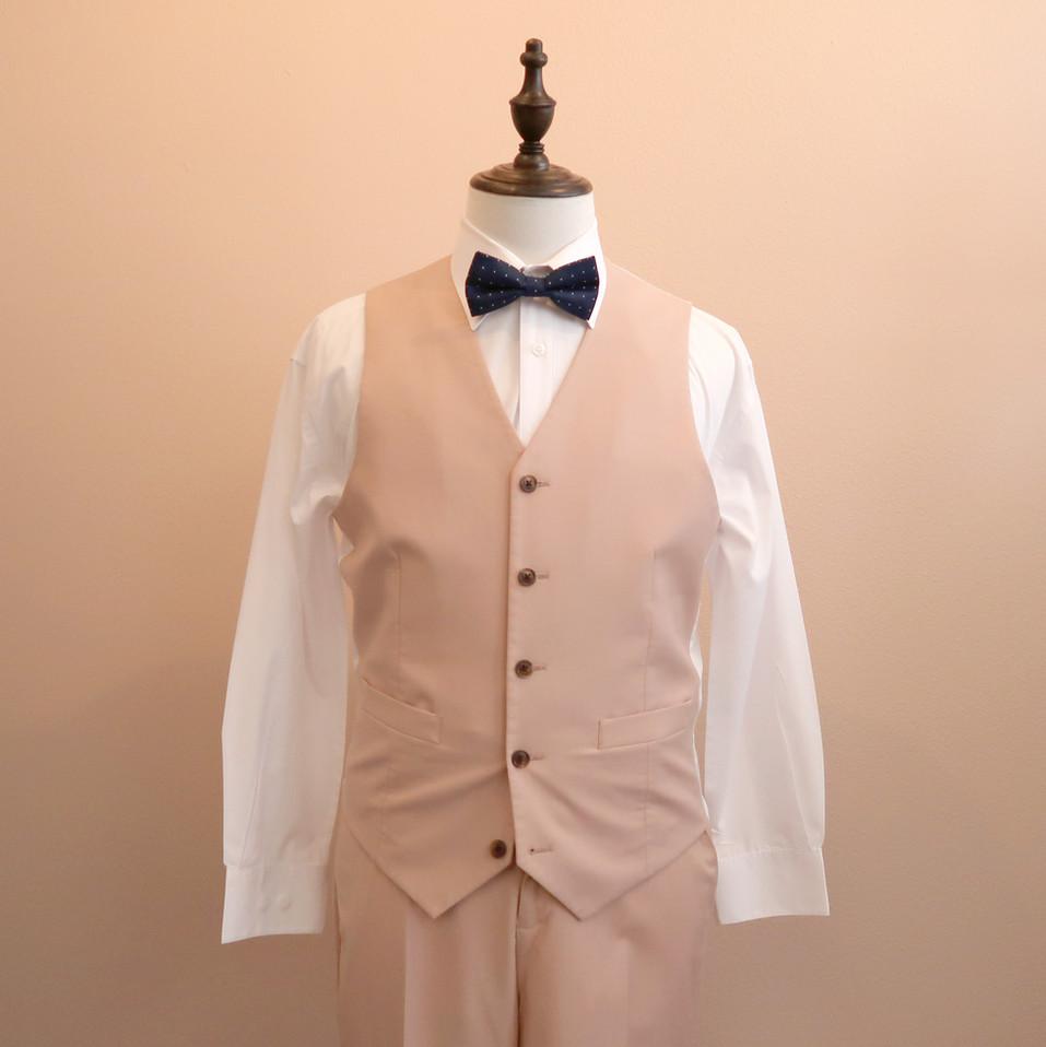 ST004_pink suit set without Jacket