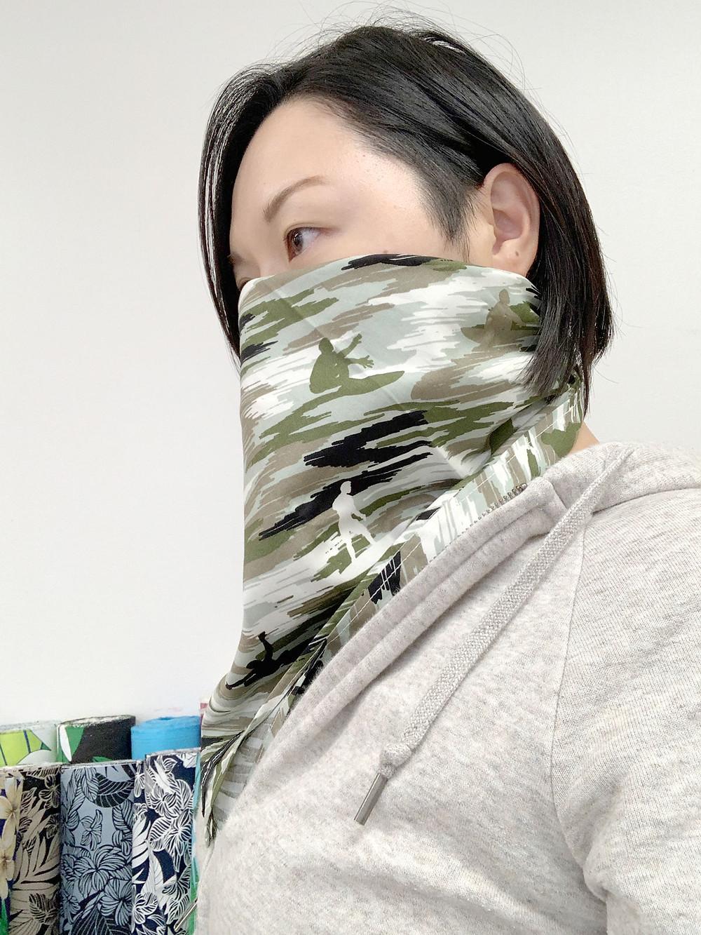 Furoshiki becomes bandanna