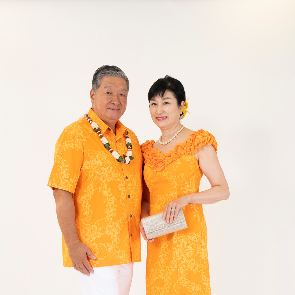 Tuberose orange dress