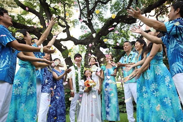 Muumuu Rainbow Hawaiian Style