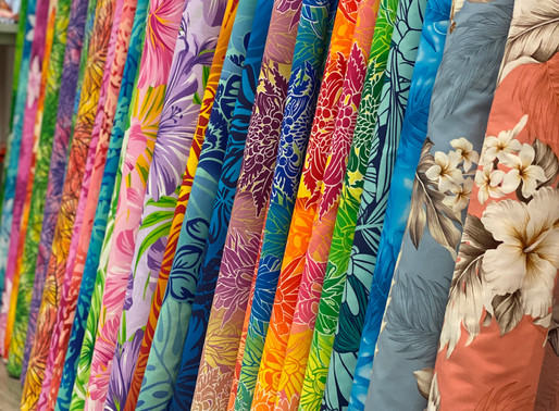 Shop Hawaiian Fabric in Waikiki!