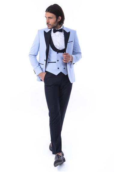 Light Blue Tux-01A
