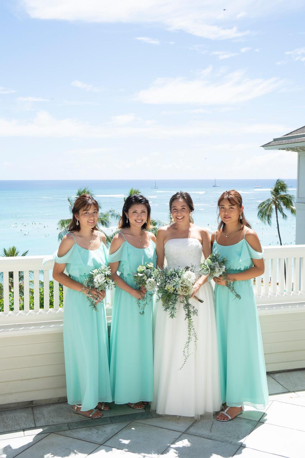 Mint Blue Bridesmaid Dresses