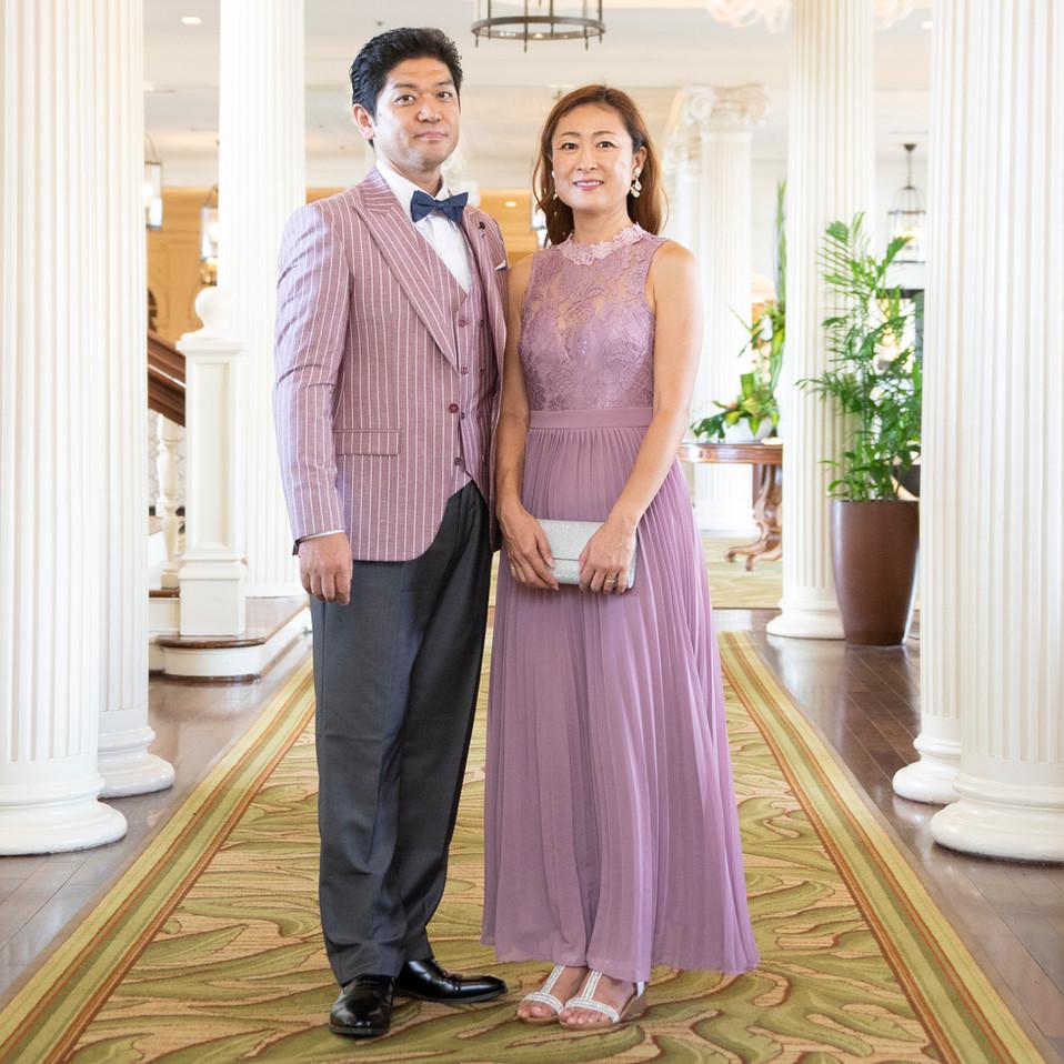 Purple Couple Styling